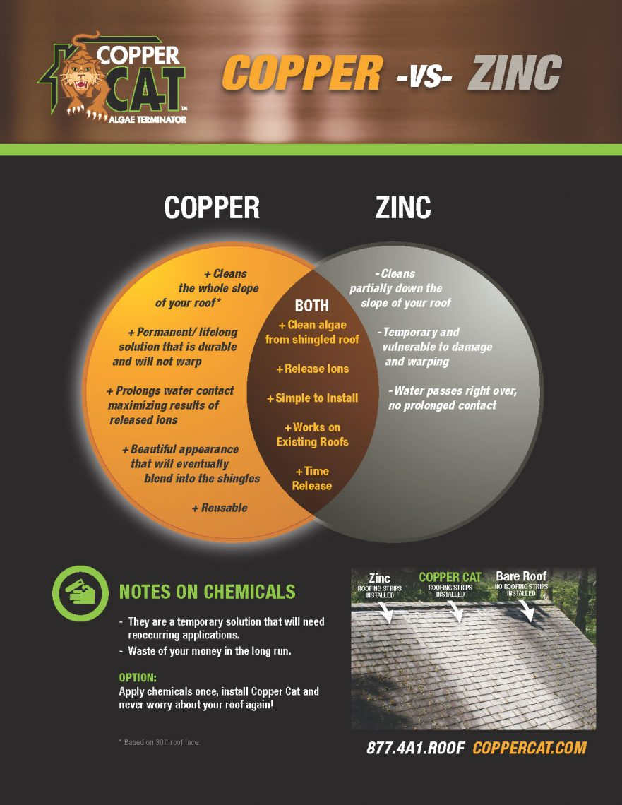 Get Rid Of Moss On Your Roof Why Copper Cat Roofing