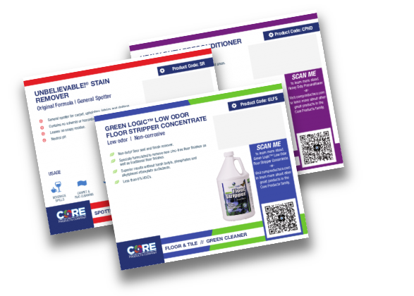 Core Products Point of Sale Cards (POS)