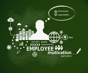 Employee Motivation Concept And Man.