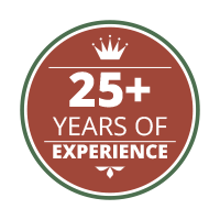 25+ Years of Experience