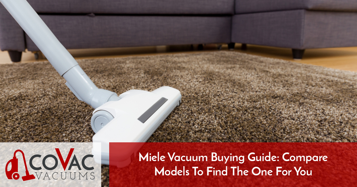 Best Canister Vacuum Cleaner The Miele Buying Guide
