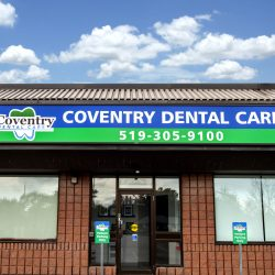 The front of Coventry Dental Care.