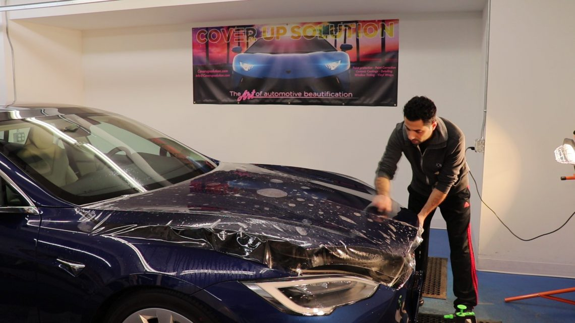 Tesla Paint Protection Film Options in Salem, New Hampshire