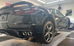 2020 Corvette C8 Receives Paint Protection Film at Cover Up Solution - Paint Protection Film in Salem, New Hampshire 3