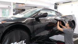 2020 Corvette C8 Receives Paint Protection Film at Cover Up Solution - Paint Protection Film in Salem, New Hampshire 6