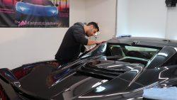 2020 Corvette C8 Receives Paint Protection Film at Cover Up Solution - Paint Protection Film in Salem, New Hampshire 5