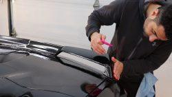 2020 Corvette C8 Receives Paint Protection Film at Cover Up Solution - Paint Protection Film in Salem, New Hampshire 4