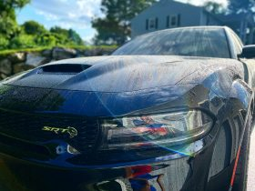 Dodge Charger Hellcat Redeye is Corrected, Protected, Coated & Tinted - Automotive Paint Protection Film in Salem, New Hampshire