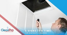 Banner image - 5 Signs It's Time For Air Duct Cleaning
