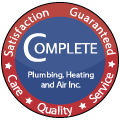 Complete Plumbing, Heating, and Air Inc.