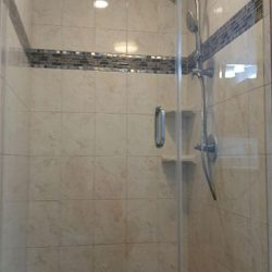 Glass Shower Door Remodel After