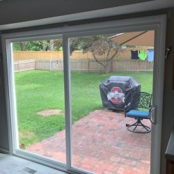 After Glass Door Replacement