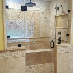 Beautiful Shower Remodel