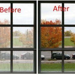 Before and After Window Replacement