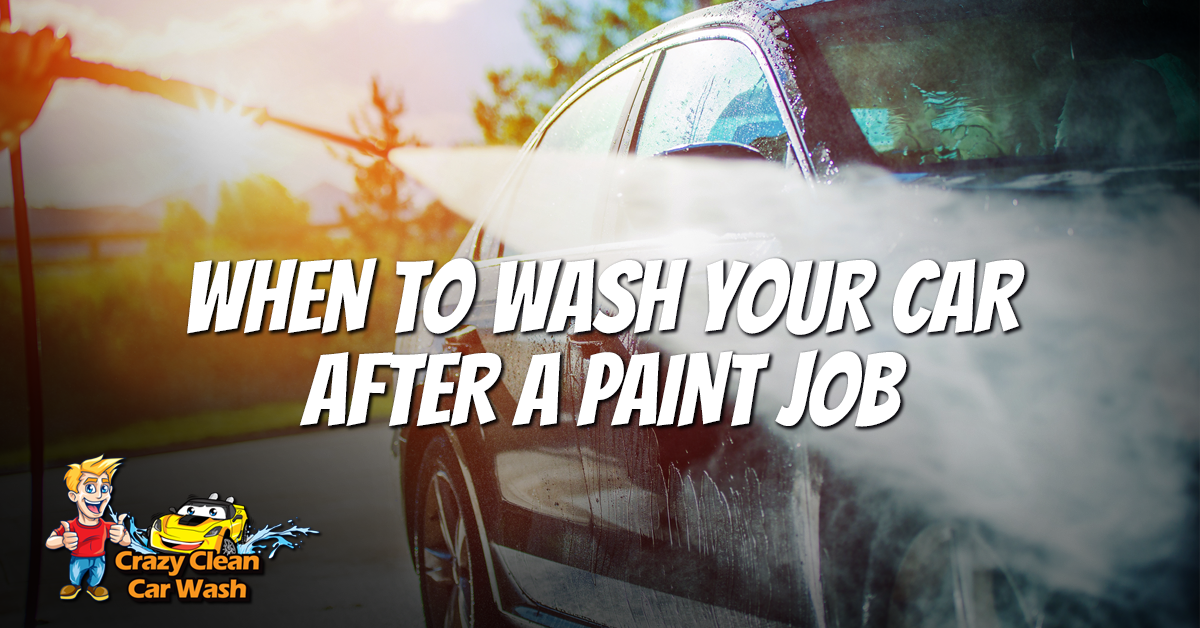 Car Wash Odessa: When To Wash After Paint Job