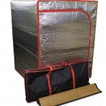 Sauna Tent with Tent Bag and Bamboo Mat