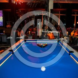 LED pool table