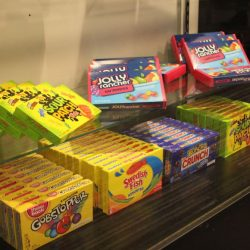 A wide variety of candy available to include in your food concessions for your event