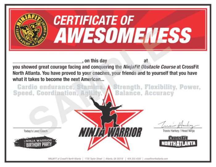 Crossfit Birthday Parties For Kids Ninja Warrior Obstacle Course