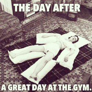 great day at the gym