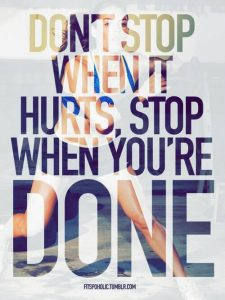 dont give up now