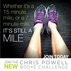 1 mi challenge