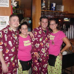 Pink Pajama Party at Crossroads Tavern & Eatery Restaurant and bar in Wood Dale