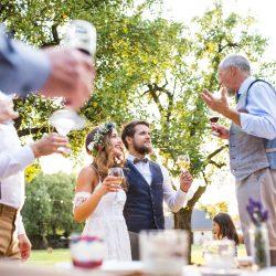 Wedding Toast Tips And Advice - Crystall Ballroom BW
