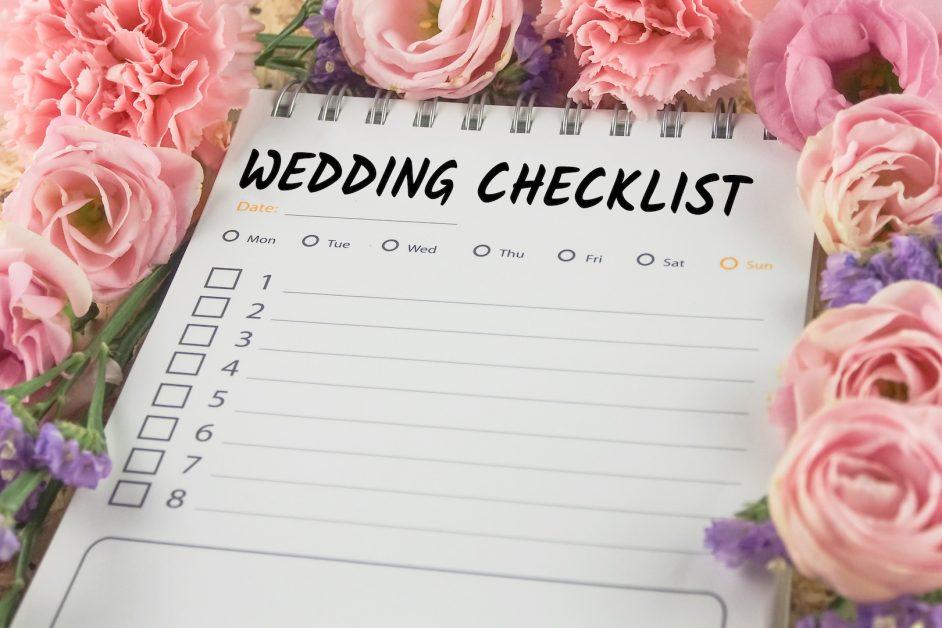 Why Wedding Checklist Is Important - Crystal Ballroom BW