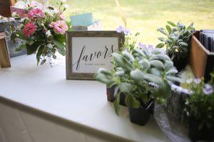 popular wedding favors ideas - Crystal Ballroom BW