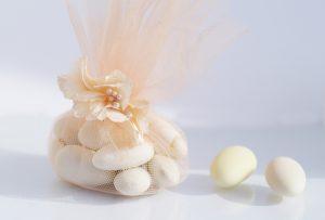 wedding favors almonds - Crystal Ballroom BW