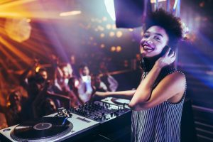 wedding music tips DJ - Crystal ballroom BW