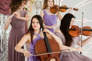 wedding music tips formal - Crystal ballroom BW