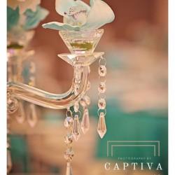 Elegant Centerpiece & Wedding Venue at The Crystal Ballroom in Orlando