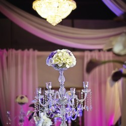 Stylish Wedding Decor at The Crystal Ballroom in Casselberry