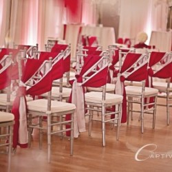Red & White Wedding Ceremony at The Crystal Ballroom in Casselberry