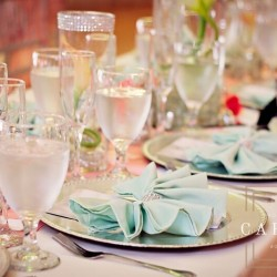 Wedding Table Decor & Design at The Crystal Ballroom in Casselberry
