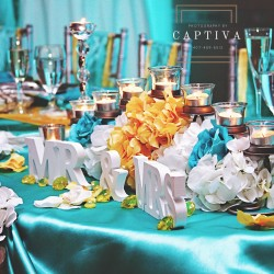 Event Venue Decor & Design at The Crystal Ballroom in Casselberry