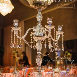 Wedding Light Fixture & Reception at The Crystal Ballroom in Casselberry