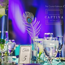 Wedding Table & Design from The Crystal Ballroom in Casselberry