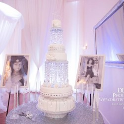 Cake & Party Venue Design at The Crystal Ballroom in Orlando