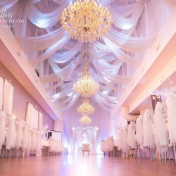 Wedding Reception Hall at The Crystal Ballroom in Orlando