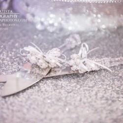Wedding Cake Knives at The Crystal Ballroom in Orlando