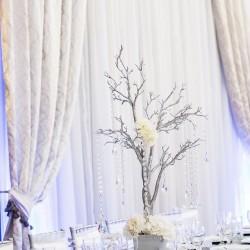Elegant Wedding Reception at The Crystal Ballroom in Orlando