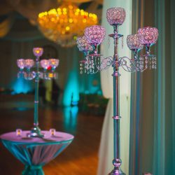 Elegant Party Decor & Design at The Crystal Ballroom in Casselberry