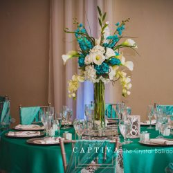The Crystal Ballroom in Casselberry Banquet Hall & Wedding Venue