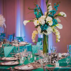 Wedding Table Centerpiece Design The Crystal Ballroom in Casselberry
