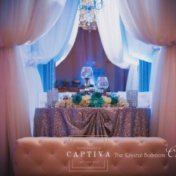 Wedding Decor & Banquet Hall at The Crystal Ballroom in Casselberry