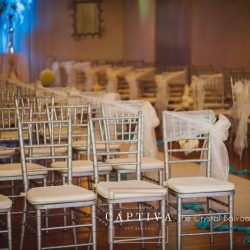 Wedding Reception Design at The Crystal Ballroom in Casselberry