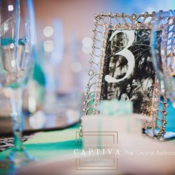 Wedding Table Decor from The Crystal Ballroom in Casselberry